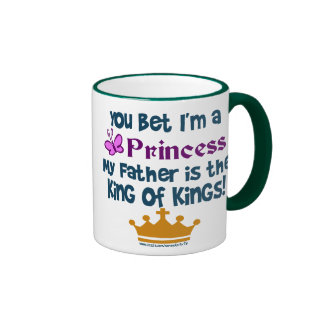 You Bet I'm a Princess Ringer Mug