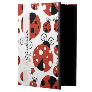 Your Name - Ladybugs, Ladybirds - Red Black
