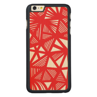 Yummy Quiet Funny Energized Carved® Maple iPhone 6 Plus Case