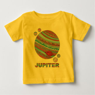 Z Planet Jupiter And Moons Space Geek Fashion T-shirt