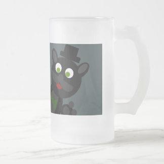 Zealot The Cat Case (Mug) Frosted Glass Mug