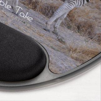 Zebra Double Take Photo Gel Mouse Pad
