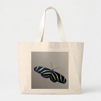 Zebra Longtail Jumbo Tote Bag