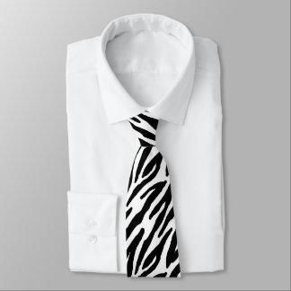 Zebra Stripes Pattern Tie