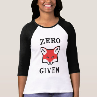 Zero (Fox) Given Tee Shirt