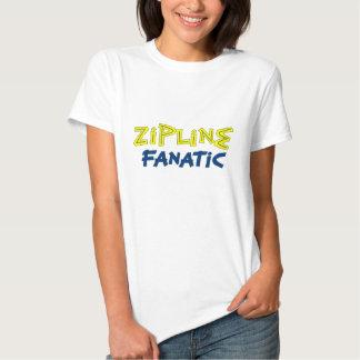 Zipline Fanatic T-shirts