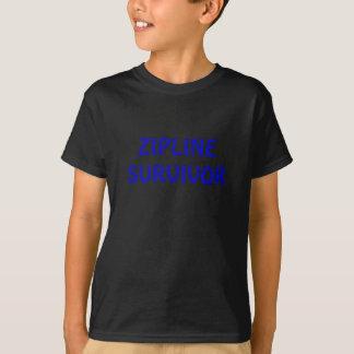 Zipline Survivor T Shirt