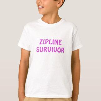 Zipline Survivor Tshirt