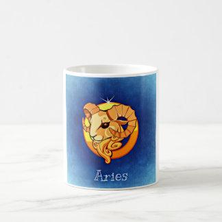 Zodiac Aries Basic White Mug