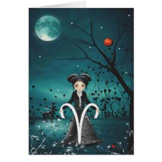 Zodiac Girls Greeting Card - Aries
