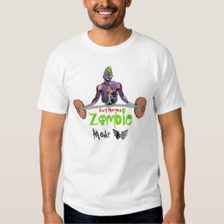 Zombie Mode Fitness Tees