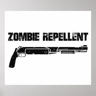 Zombie Repellent Poster