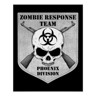 Zombie Response Team: Phoenix Division Poster