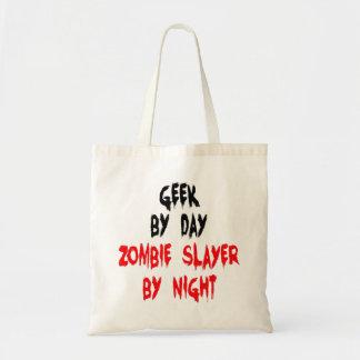Zombie Slayer Geek Budget Tote Bag