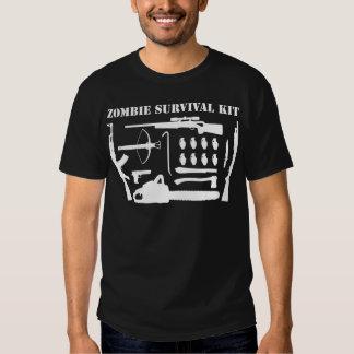 Zombie Survival Kit T-shirts