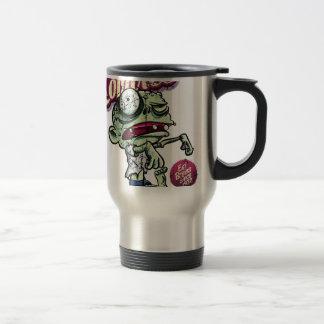 Zombies eat Brains Stainless Steel Travel Mug