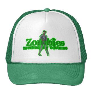 Zombies Wrecked My Costume - Halloween Cap